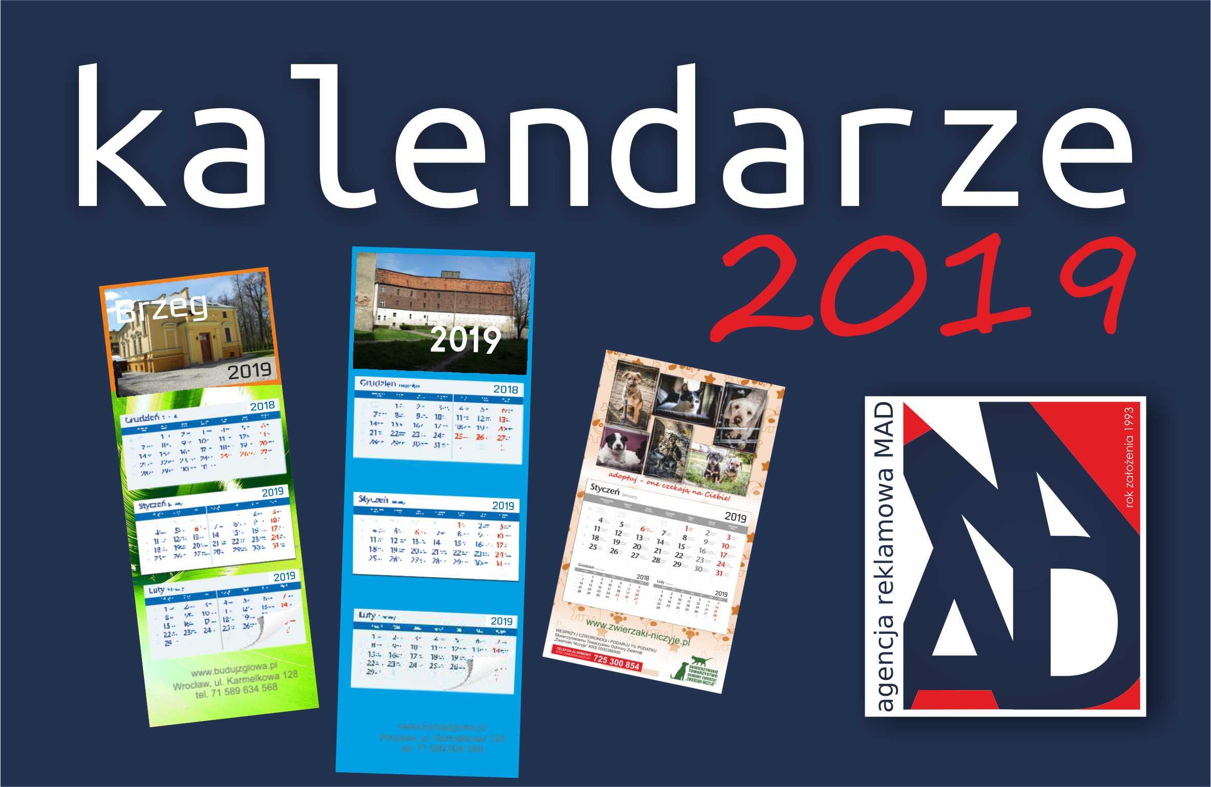 Agencja MAD - kalendarze 2019